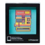 Polaroid Desk Frame, Black, 4x4""